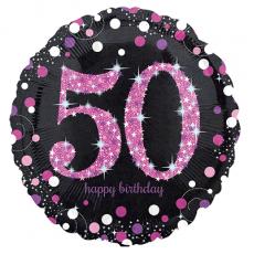 Balón číslo 50 bodky