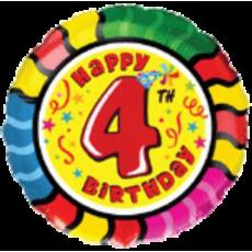 Balón Happy Birthday 4