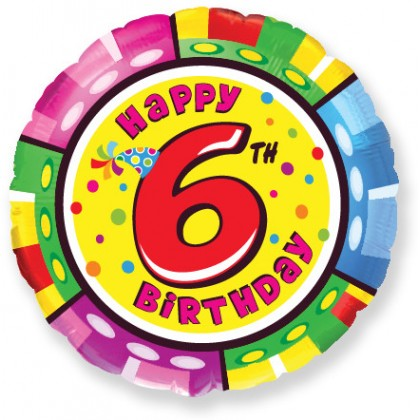 Balón Happy Birthday 6