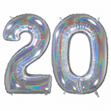 Narodeninový balón číslo 20 66cm