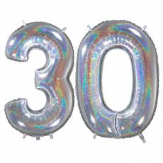 Narodeninový balón číslo 30 66cm