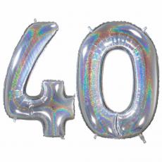Narodeninový balón číslo 40 veľké