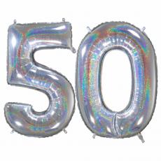 Narodeninový balón číslo 50 66cm