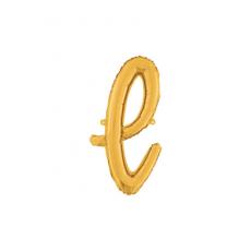 Písmeno malé zlaté L script
