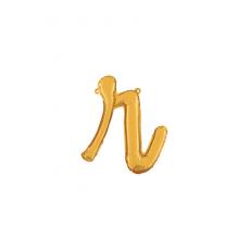 Písmeno malé zlaté R script
