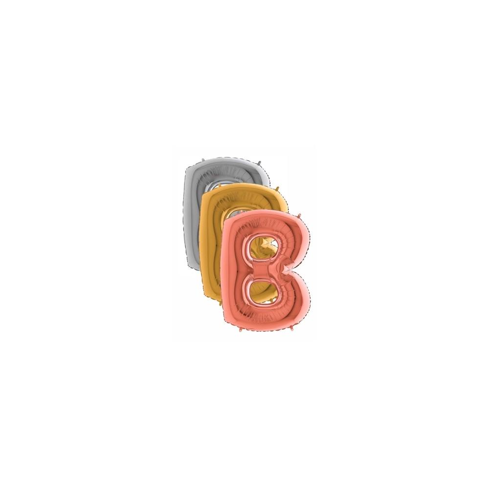 Balón písmeno B 100 cm