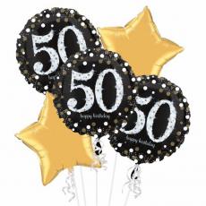 Balónová kytica narodeniny 50
