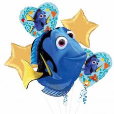 Balónová kytica Dory