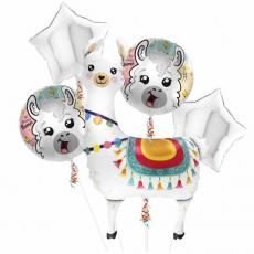 Balónový set Lama