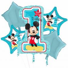 Kytica z balónov Mickey Mouse 1.narodeniny