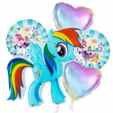 Balónová kytica My Little Pony Rainbow Dash