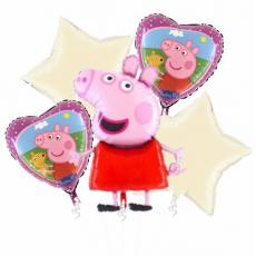 Kytica z balónov Peppa Pig