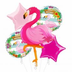 Kytica z balónov Plameniak