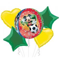 Balónová kytica Mickey Mouse