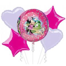 Balónová kytica Minnie Mouse