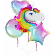 Balónový set Jednorožec