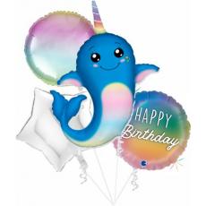 Balónový set Narwhal