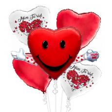 Balónová kytica Valentín Mám Ťa Rád