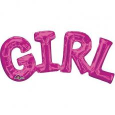 Balónový banner GIRL