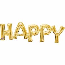 Balónový banner HAPPY