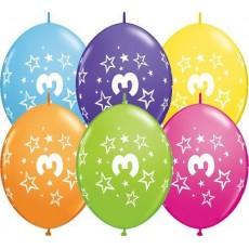 Balón naväzovací číslo 3 Qlink Stars