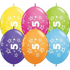 Balón naväzovací Q číslo 5 Qlink Stars