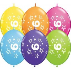 Balón naväzovací Q číslo 6 Qlink Stars
