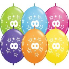 Balón naväzovací Q číslo 8 Qlink Stars