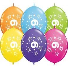 Balón naväzovací Q číslo 9 Qlink Stars