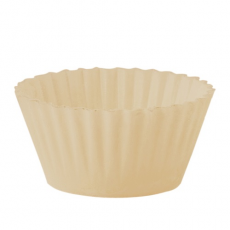 Jedlý košík na muffiny biely