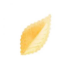 Oplátkový list zlatý perleťový 4,2 cm