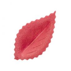 Oplátkový list ružový perleťový 4,2 cm