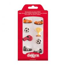 Cukrová dekorácia Futbal