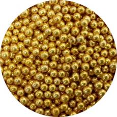 Cukrové perly zlaté malé 50g