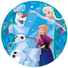 Jedlý obrázek Frozen standart + fólia20 cm
