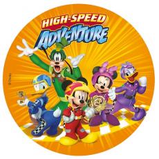 Jedlý obrázok Mickey Mouse a kamaráti 20 cm