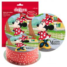 Jedlá oplátka Minnie Mouse standart + fólia 20 cm