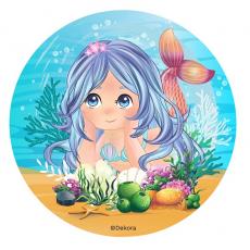 Jedlá oplátka Siréna 20 cm