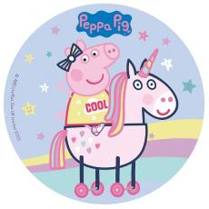 Jedlý obrázok Pepa Pig standart 20 cm