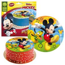 Jedlý obrázok Mickey Mouse 16 cm fondán