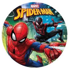 Jedlá oplátka Spiderman 20 cm