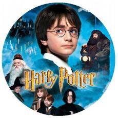Jedlá oplátka Harry Potter 20 cm