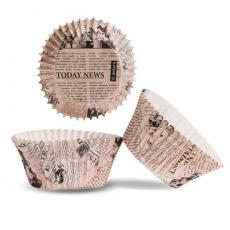 Košíčky na muffiny Noviny 25 ks papierové