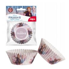 Papierové košíčky na muffiny Frozen 2 25 ks