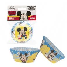 Košíčky na muffiny Mickey Mouse 25 ks papierové