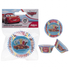 Košíčky na muffiny Cars 25 ks papierové