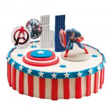Dekorácia na tortu Kapitán Amerika