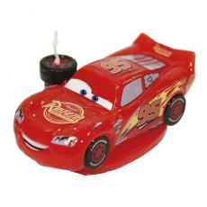 Tortová sviečka Cars Mc Queen