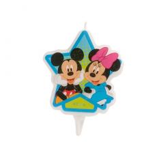 Narodeninová sviečka Mickey a Minnie