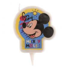 Tortová sviečka Mickey Mouse